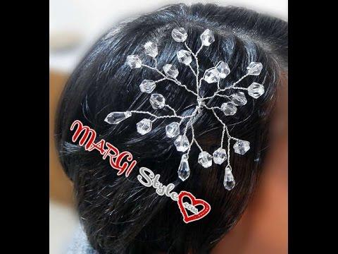 Accessori capelli sposa fai da te MarGistyle