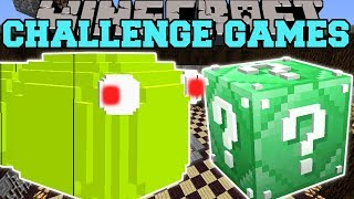 Minecraft: MASSIVE WORM CHALLENGE GAMES - Lucky Block Mod - Modded Mini-Game