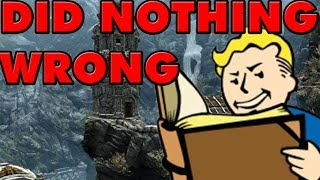 The Creation Engine Did Nothing Wrong | It's Bethesda! | Morrowind to Fallout 76