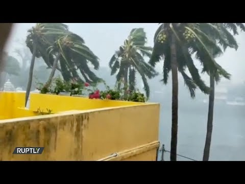 العرب اليوم - شاهد: الإعصار