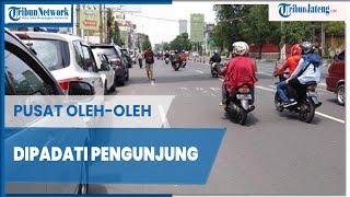 Pusat Oleh-oleh di Jalan Pandanaran Semarang Dipadati Pengunjung dari Luar Kota