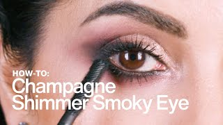 HOW TO: Champagne Shimmer Smoky Eye | MAC Cosmetics
