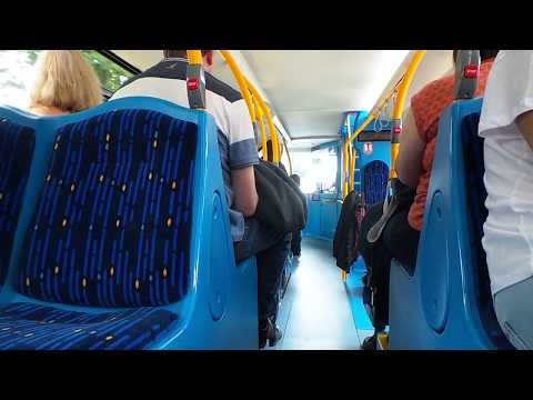 Service: 7 | First York Optare Metrodecker EV 39500 (YJ17 FXX) demonstrator