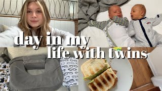 ditl with twins: how i tandem feed and breastfeeding struggles