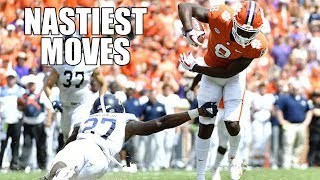 Nastiest Moves (Hurdles, Jukes, Spin Moves, & Stiff Arms) Of The 2018-19 College Football Season ᴴᴰ