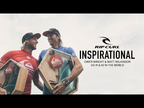 Inspirational | Owen Wright & Matt Wilkinson