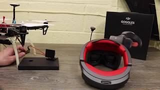 DJI Goggles Ocusync Air System Head Tracking Setup & Info