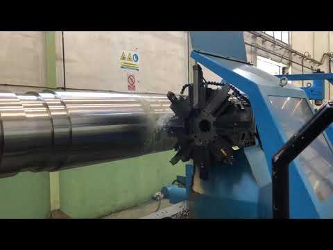 Tokarka CNC GEMINIS GORATU GHT 11. G4 2200X8000 2010