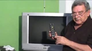 COMO CONFIGURAR O CONTROLE SKY HDTV EM SUA TV DE TUBO
