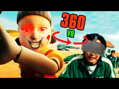 360° VR SQUID GAME - Red Light Green Light | Virtual Reality Experience