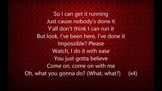 Pink - Just Like Fire Lyrics Clean