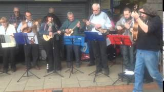 preview picture of video 'Ageless Ukes Performing  at  the Northwich Easter Event'