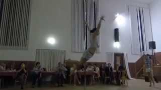 preview picture of video 'Hasičský ples 2015 - Vystoupení Pole dance'
