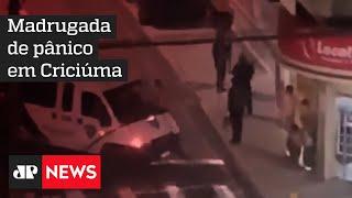 Moradores de Criciúma vivem madrugada de terror durante ação de quadrilha