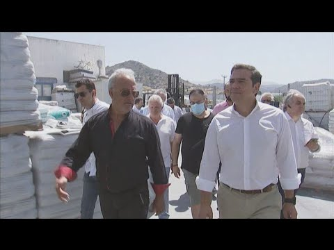 Επίσκεψη του Προέδρου του ΣΥΡΙΖΑ, Αλέξη Τσίπρα, στη Νάξο