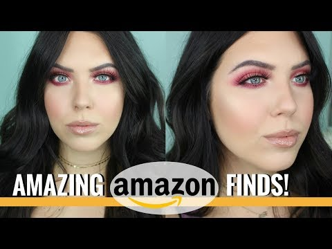 CHEAP AMAZON MAKEUP TUTORIAL – SOME AMAZING FINDS! Full Face of Amazon Makeup | Faith Drew