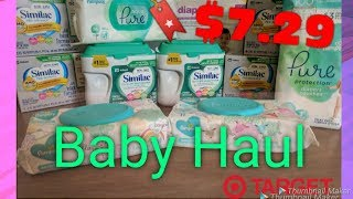 Target Baby Haul!!! Free Formula, Free Diapers & Super Cheap Wipes!!