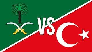 🇸🇦 Saudi Arabian National Anthem vs. Turkish National Anthem! 🇹🇷