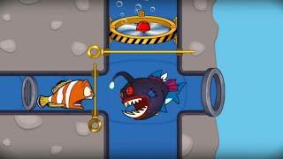 save the fish game / save fish / fishdom gameplay