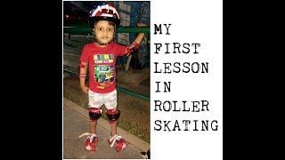 How To Start Roller Skate For Kids ! SKATING TODDLER ! SKATING ADVENTURE !  LEARN HOW TO SKATE !