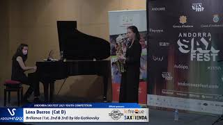 Léna Ducros plays Brillance 1st, 2nd & 3rd by Ida Gotkovsky