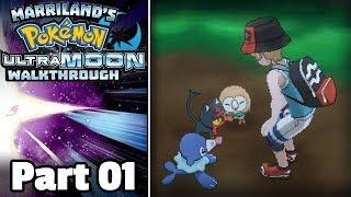 Pokémon Ultra Moon Walkthrough, Part 01: Your First Pokémon!