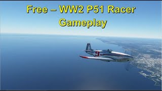 Microsoft Flight Simulator 2020 - Aircraft - WW2 P51 Racer