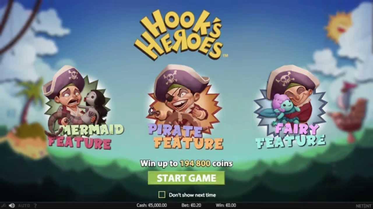 Hook's Heroes från NetEnt