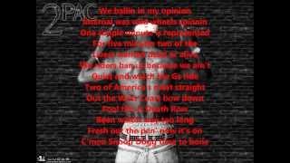 Tupac & Snoop dogg - Dead or Alive w/ lyrics