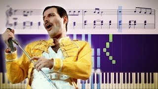 SOMEBODY TO LOVE (Queen) - Isolated Vocals + Piano (Tutorial & Sheets)