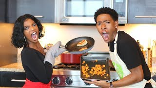 Download Youtube: COOKING WITH DK4L | FANCY MEALS