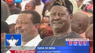 Raila Odinga akashifu serikali ya Jubilee kwa kutojali Wakenya wakiwa kampeni Mumias