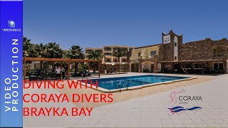 Diving in the Red Sea with Coraya Divers Brayka Bay Egypt