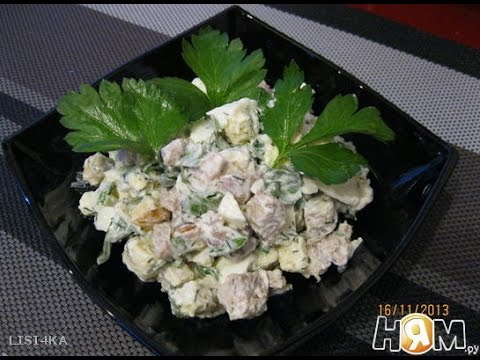 Салат Крестьянский  Рецепт салата