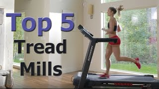 Top 5 Premium Treadmills For Getting Fit In 2019