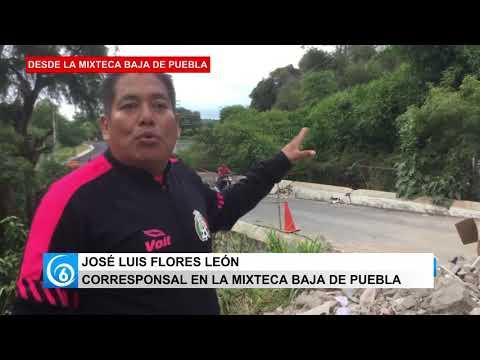 Así la situación en la Mixteca baja del estado de Puebla