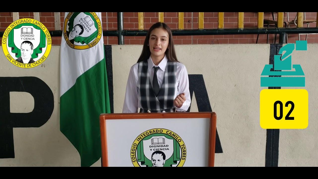 Candidata Personería Mariana Diaz Rojas