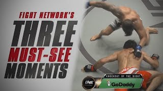 New Featherweight Champ at ONE: Quest for Greatness | Top 3 Must-See Moments