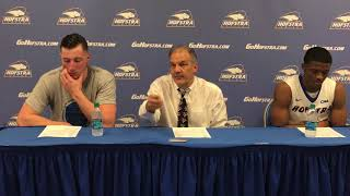 MBB: Hofstra Postgame Press Conference vs. William & Mary (2/15/17)