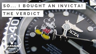 What I thought of the Invicta Pro Diver! - Part 2