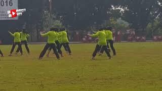 HEBOH Tentara Cantik Goyang Poco Poco di Piala Panglima TNI