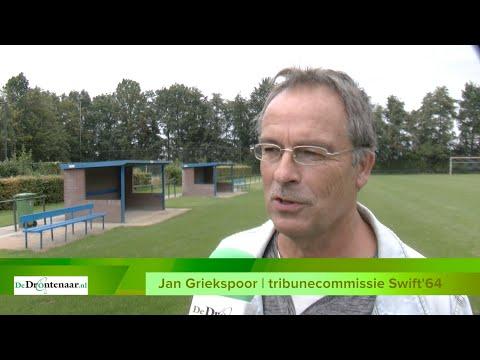 Gemeente Dronten geeft voetbalclub Swift'64 financiële steun voor bouw tribune