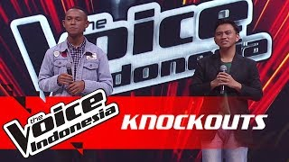 Aldo vs Yonathan | Knockouts | The Voice Indonesia GTV 2018