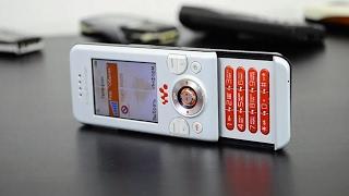 Sony Ericsson W580i  (обзор в 2017) / Арстайл /