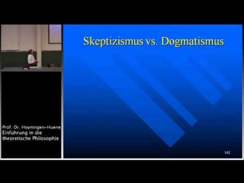 Grundbegriffe der Erkenntnistheorie III: Genese - Geltung, Skeptizismus, Relativismus