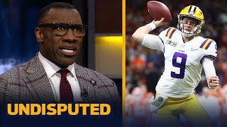 Shannon Sharpe reacts to Joe Burrow torching Clemson in the National Championship | CFB | UNDISPUTED