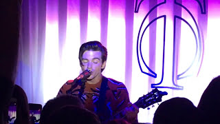 Drake Bell I Found A Way live at The Tipping Chair Tavern in CT