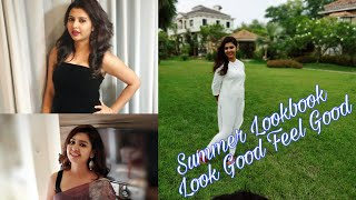 summer lookbook || look good feel good || #summeroutfit #lookgood #feelgood #saree #kurti #Dress