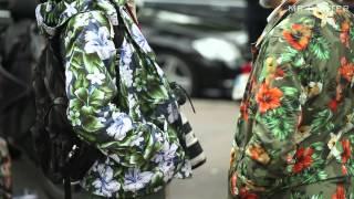 Street Style From Fashion Week: Print & Pattern -- MR PORTER