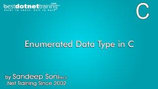 Enumerated Data Type in C Programming Language